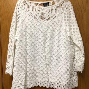 Rafella lace blouse